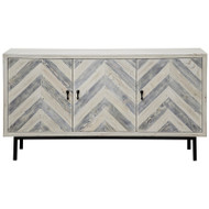 Chevron Sideboard - Small