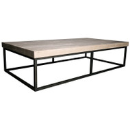 Marin Coffee Table - Large Rl Top
