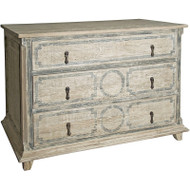 Reclaimed Lumber Livingston 3-Drw Rl Dresser - Small
