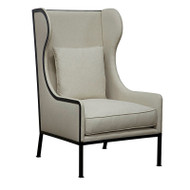 Tall Allende Chair Metal Frame