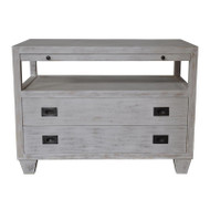2 Drawer Side Table https://cdn3.bigcommerce.com/s-nzzxy311bx/product_images//w/ Sliding Tray - White Wash