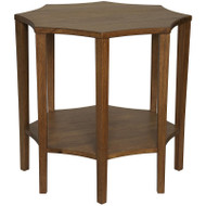 Ariana Side Table - Dark Walnut