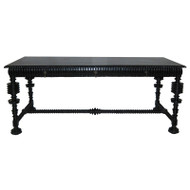 Portuguese Desk - Hand Rubbed Black