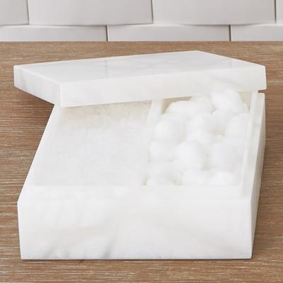 Alabaster Amenities Box