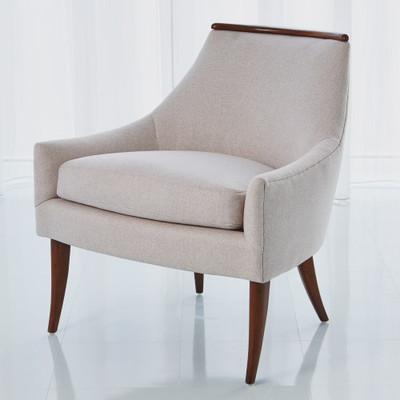 Boomerang Chair - Candid Fleece