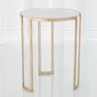 Channel Accent Table - Silver Leaf