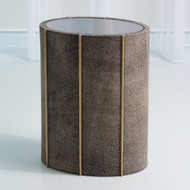 Churchill Oval Drum Table