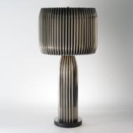 Crimp Table Lamp - Antique Nickel