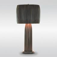 Crimp Table Lamp - Bronze