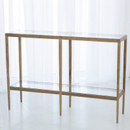 Laforge Console - Antique Gold