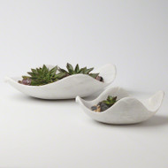 Marble Dove Bowl - Lg
