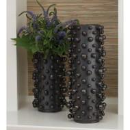 Molecule Vase - Graphite - Sm