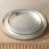 Nouveau Luxe Tray - Silver Leaf - Lg