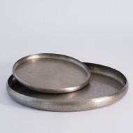 Offering Tray - Antique Nickel - Lg