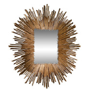 Soleil Mirror - Gold Leaf