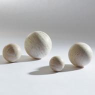 "Travertine Sphere - 6"""