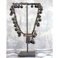 Vintage Cow Necklace on Stand