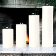 "3 Wick Pillar Candle - Unscented - 5""x10"""