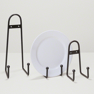 Ball Design Plate Stand - Lg