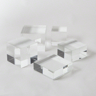 Crystal Cube Riser - Med