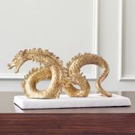 Dragon - Gold Leaf