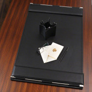 Flap Desk Blotter - Black