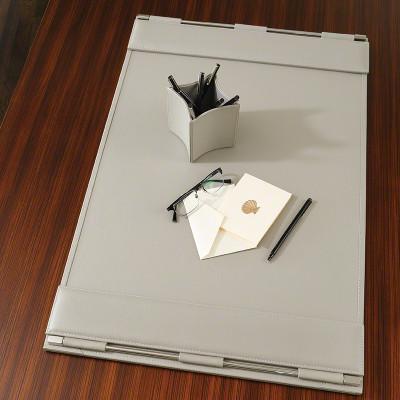 Flap Desk Blotter - Grey