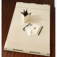 Flap Desk Blotter - Ivory