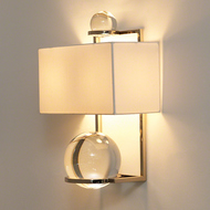 Fortune Teller Sconce - Polished Stainless Steel
