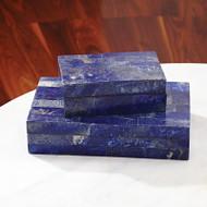 Lapis Stone Box - Lg