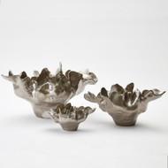 Meteor Bowl - Silver Haze - Lg