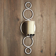 Progressive Ring Sconce - Nickel