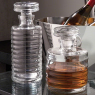 Ribbed Decanter - Tall