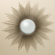 Sunburst Mirror - Nickel