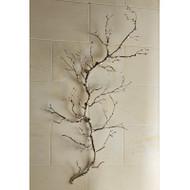 Twig Wall Art - Nickel