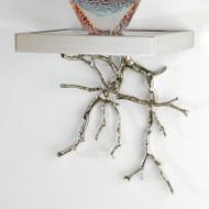 Twig Wall Bracket - Nickel
