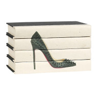 Hot Heels 4 Volume Stack - Black Studded