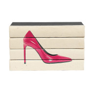 Hot Heels 4 Volume Stack - Pink Patent