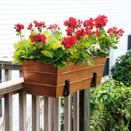 Copper Plated Window Box - Med