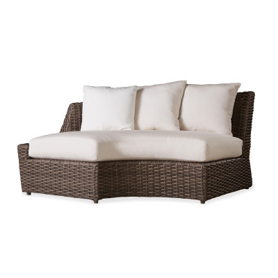 Lloyd Flanders Largo Right Curved Sectional