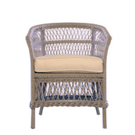 Lloyd Flanders Fairhope Barrel Dining Chair