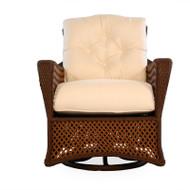 Lloyd Flanders Grand Traverse Swivel Glide Lounge Chair #1