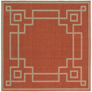 "Surya Alfresco  Rug - ALF9631 - 7'3"" Square"