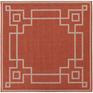 "Surya Alfresco  Rug - ALF9631 - 8'9"" Square"