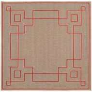 "Surya Alfresco  Rug - ALF9633 - 7'3"" Square"