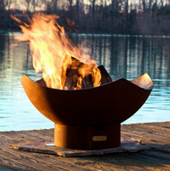 Fire Pit Art Manta Ray Fire Pit