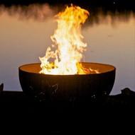 Fire Pit Art Funky Dog Fire Pit