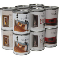 Anywhere Fireplace 13 oz Fuel Canisters- 12 Pack