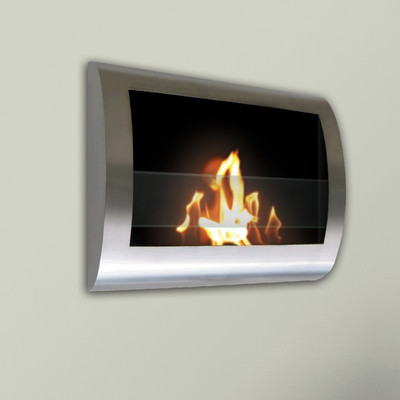 Anywhere Fireplace Chelsea Fireplace- Stainless Steel