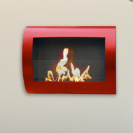 Anywhere Fireplace Chelsea Fireplace- Red High Gloss